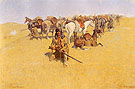 An Old Time Plains Fight 1904 - Frederic Remington