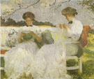 Afternoon in September 1913 - Frank Weston Benson