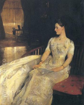 Mrs. Cecil Wade 1886 - John Singer Sargent reproduction oil painting
