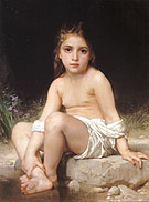 William-Adolphe Bouguereau Child at Bath 1886