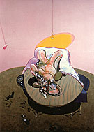 Francis Bacon Lying Figure 1969