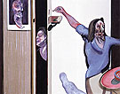Francis Bacon Three Studies of Isabel Rawsthorne 1967