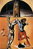 Salvador Dali Poetry of America The Cosmic Athletes 1943