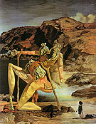 Salvador Dali Spectre of Sex Appeal 1932