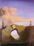 Salvador Dali Triangular Hour 1933