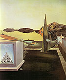 Salvador Dali Surrealist Object indicative of Instaneons Memory 1932