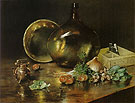 Collection of Brass Pots 1888 - William Merrit Chase