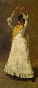 A Madrid Dancing Girl 1886 - William Merrit Chase