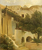Frederick Lord Leighton Gorden of a House at Capri 1859