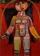 Jean Dubuffet Girl with Skipping Rope 1943