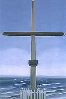 Georgia O'Keeffe Cross By The Sea Canada Cross With Sea Corss bythe Sea Gaspe 1932