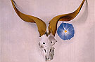 Georgia O'Keeffe Ram Head Blue Morning Glory 1938