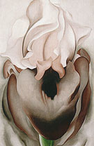 Georgia O'Keeffe Black Iris VI 1936