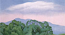 Georgia O'Keeffe Lake George Mountain to the North 1925