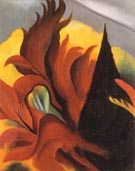 Georgia O'Keeffe Red Maple 1922