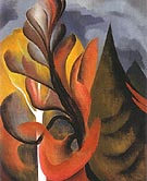 Georgia O'Keeffe Maple and Cedar Lake George 1922