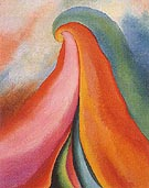 Georgia O'Keeffe Series 1 No 4 1918