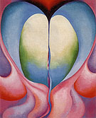 Georgia O'Keeffe Pink Line 1919