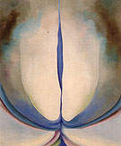 Georgia O'Keeffe Blue Line 1919