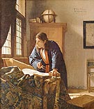 The Geographer 1669 - Johannes Vermeer