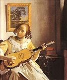 Johannes Vermeer The Guitar Player