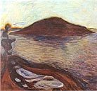 The Island 1900-1901 - Edvard Munch