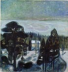 White Night 1901 - Edvard Munch