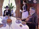 The Dining Room, Opus 152 c 1886 - Paul Signac reproduction oil painting