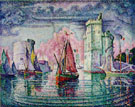 Port of La Rochelle 1921 - Paul Signac reproduction oil painting