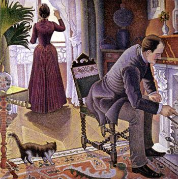 Sunday c1880 - Paul Signac reproduction oil painting