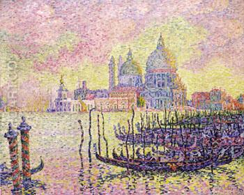 Grand Canal Venice 1905 - Paul Signac reproduction oil painting