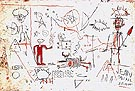 Jean-Michel-Basquiat Untitled 1981