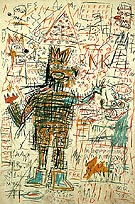 Jean-Michel-Basquiat Untitled 1982 A