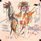 Jean-Michel-Basquiat A Next Loin andlor 1982