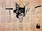 Jean-Michel-Basquiat Untitled 1982