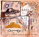 Jean-Michel-Basquiat Cadillac Moon 1981