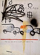 Jean-Michel-Basquiat Untitled 1980