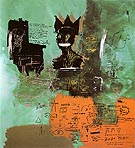 Untitled 1984 - Jean-Michel-Basquiat