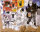 Crowns Peso Neto 1981 - Jean-Michel-Basquiat reproduction oil painting