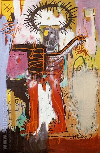 Untitled 1981 2A - Jean-Michel-Basquiat reproduction oil painting