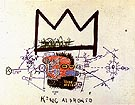 King Alphonso 1982 83 - Jean-Michel-Basquiat reproduction oil painting