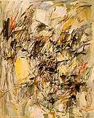 Untitled 1954 - Joan Mitchell