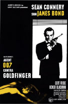 Goldfinger SC - James-Bond-007-Posters reproduction oil painting