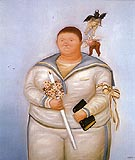 Fernando Botero First Communion 1970