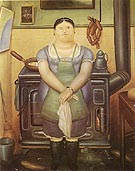 Fernando Botero The Maid 1974