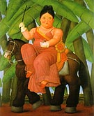 The First Lady 1989 - Fernando Botero