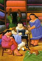 The Seamstresses 2000 - Fernando Botero