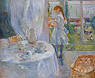 Cottage Interior 1886 - Berthe Morisot reproduction oil painting