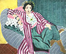 Odalisque on a Striped Coat, 1937 - Matisse