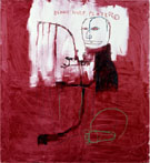 Deaf 1984 - Jean-Michel-Basquiat